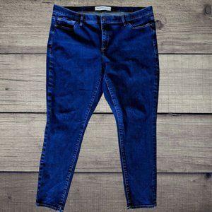 Gap 1969 True Skinny Ankle Stretch Pants Jeans